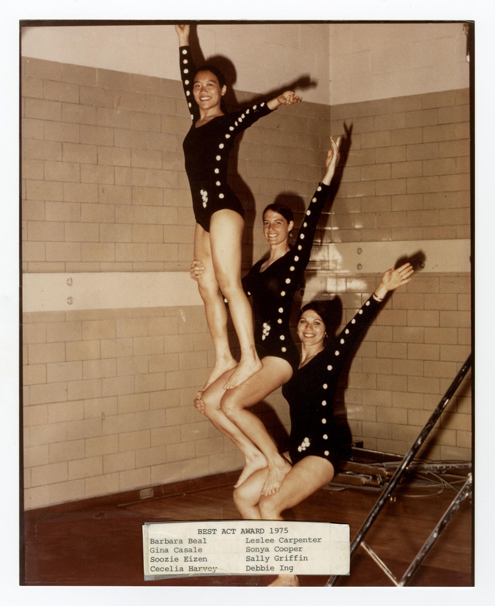 1975 - Women's Triples Balancing