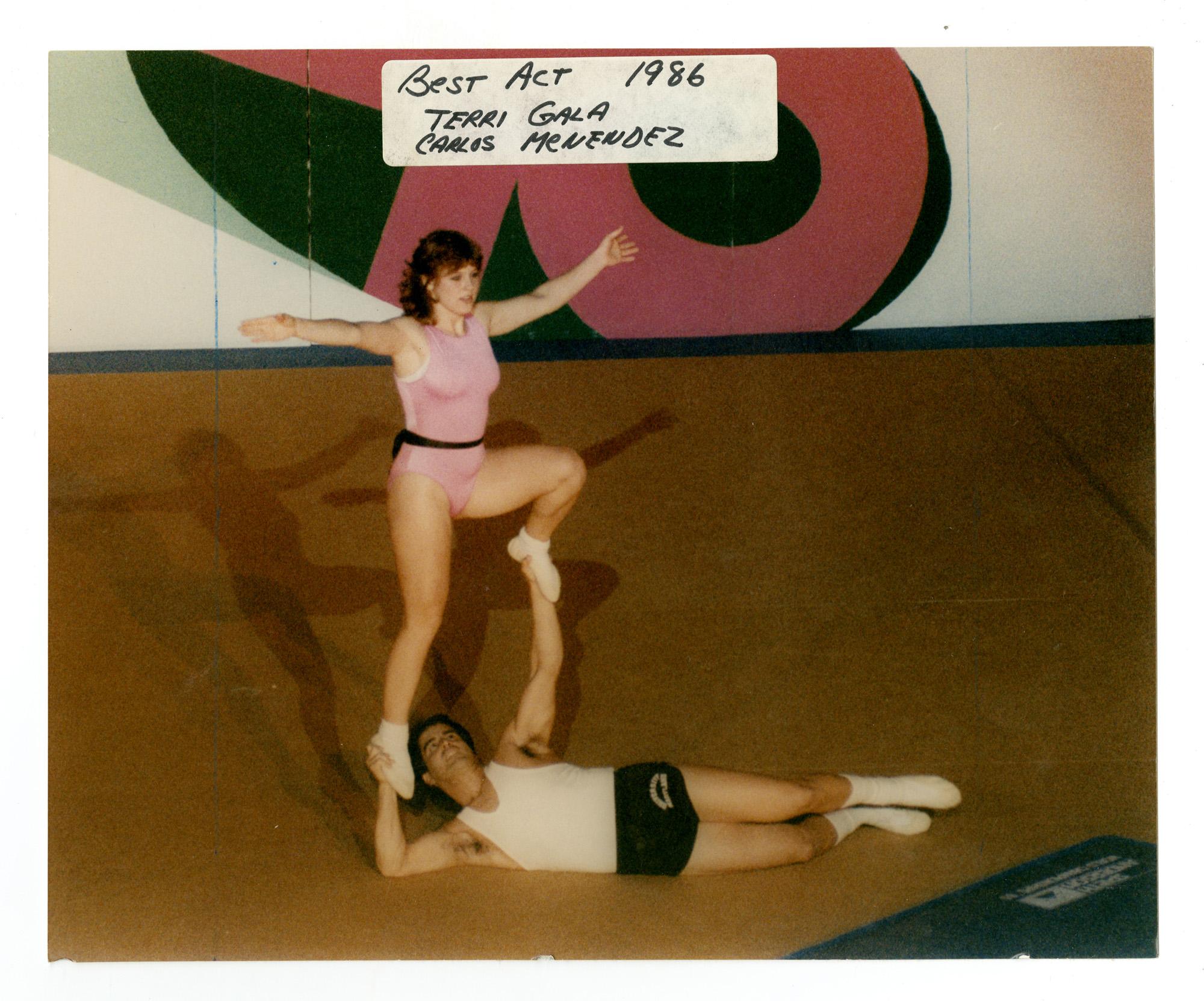 1986 - Mixed Doubles Balancing