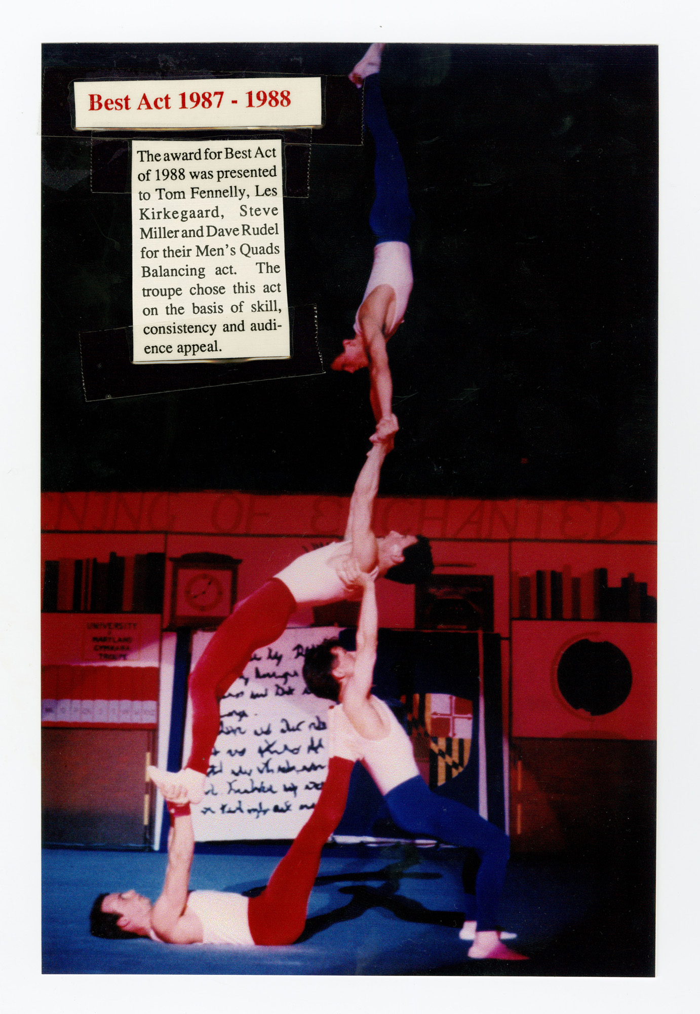 1988 - Men's Quads Balancing