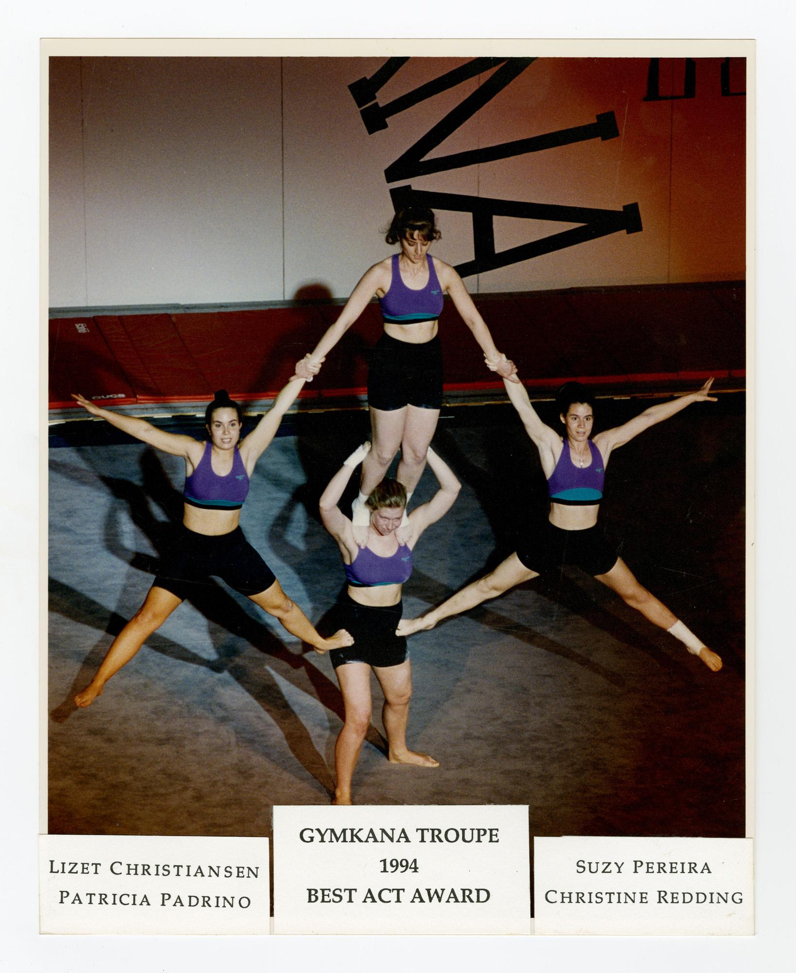 1994 - Women's Quads Balancing