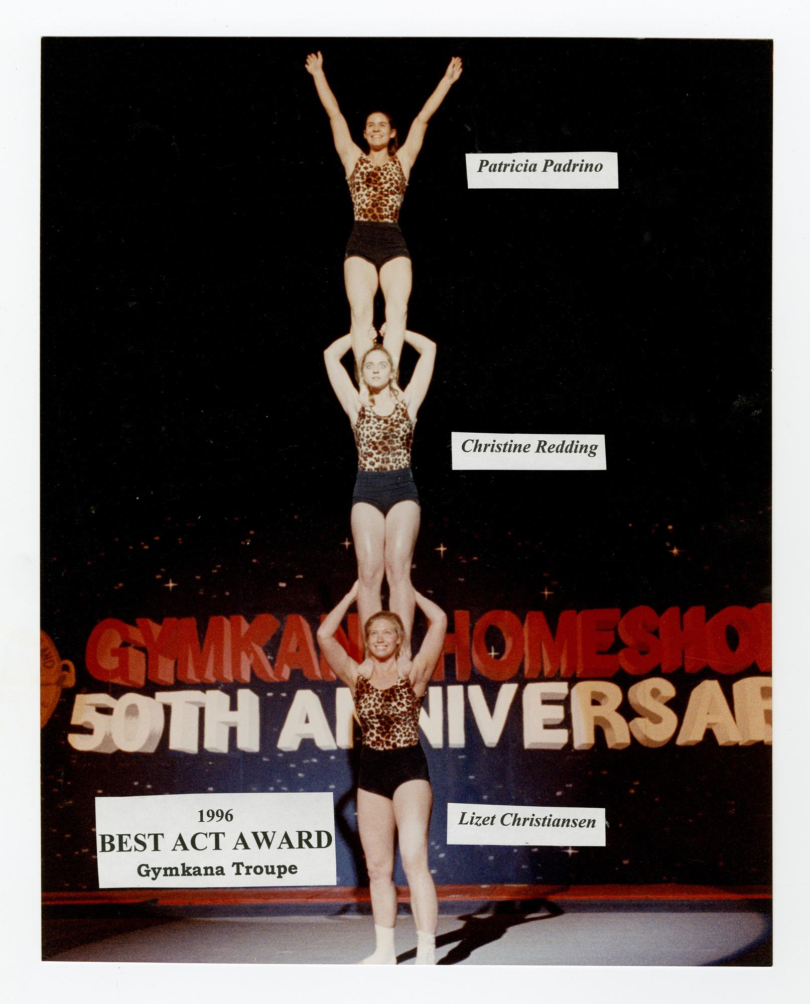 1996 - Women's Triples Balancing