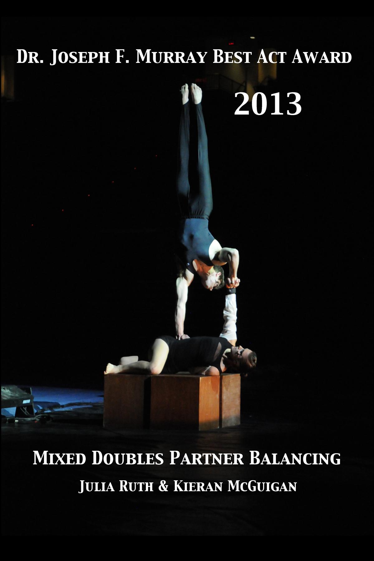 2013 - Mixed Doubles Balancing