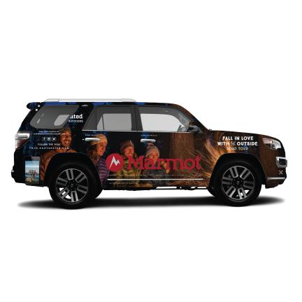 Road Tour Car Design - Integrated Marketing Campaign
