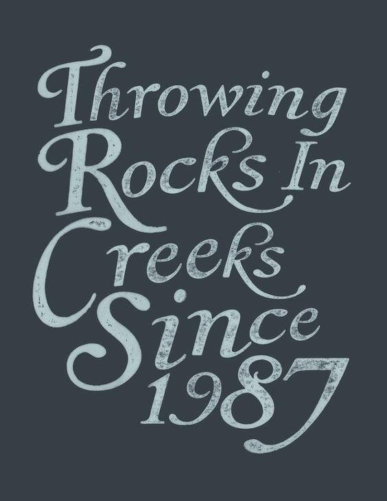 Rock/Creek - Custom artwork and apparel designed for Rock/Creek Outfitters, one of the country's premiere speciality outdoor retailers.