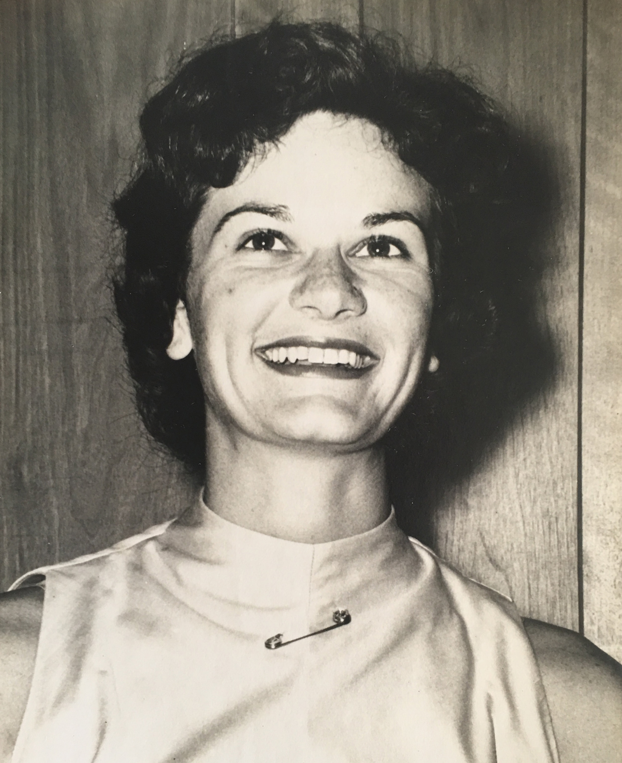 Nancy Hawthorne, 1958.