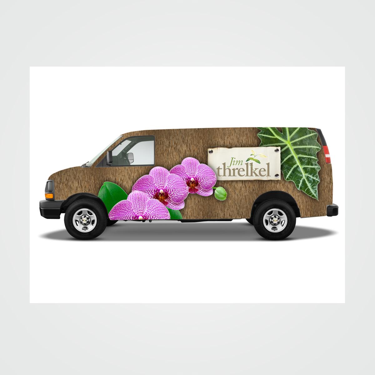 Truck fleet design for Threlkel Florist in Fort Lauderdale