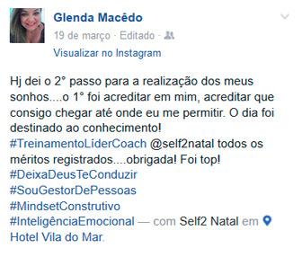 Depoimento Glenda Macedo
