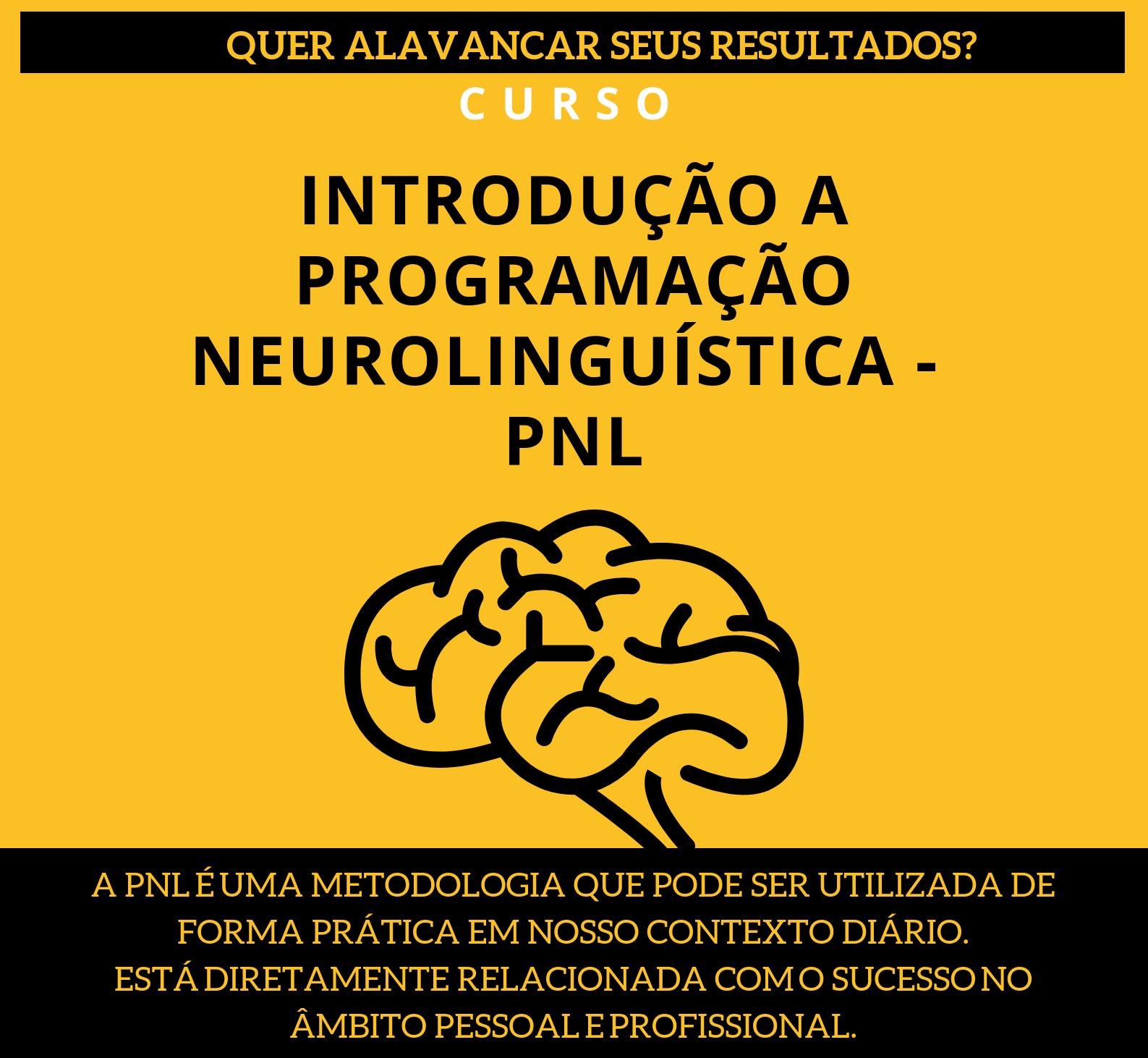 INTRODUÇÃO A PROGRAMAÇÃO NEUROLINGUÍSTICA - PNL