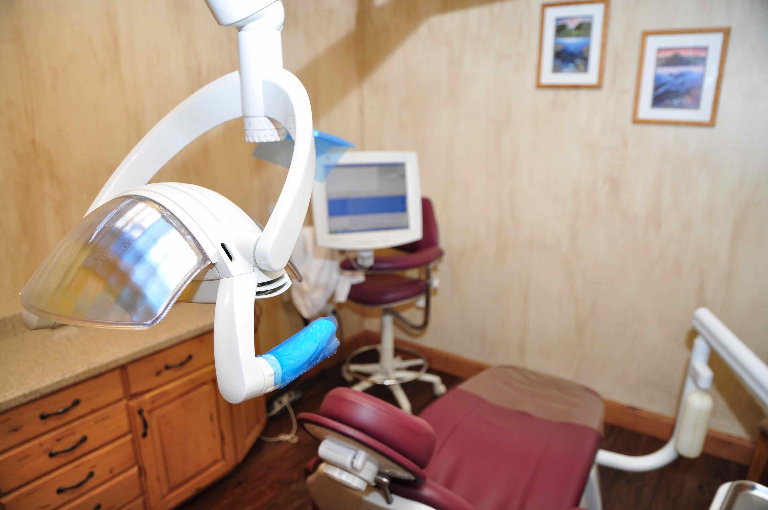 Operatory room at Cornerstone Dental Care