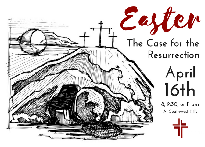 Come join us this Sunday at 8:00, 9:30, or 11:00 am as we celebrate the resurrection!