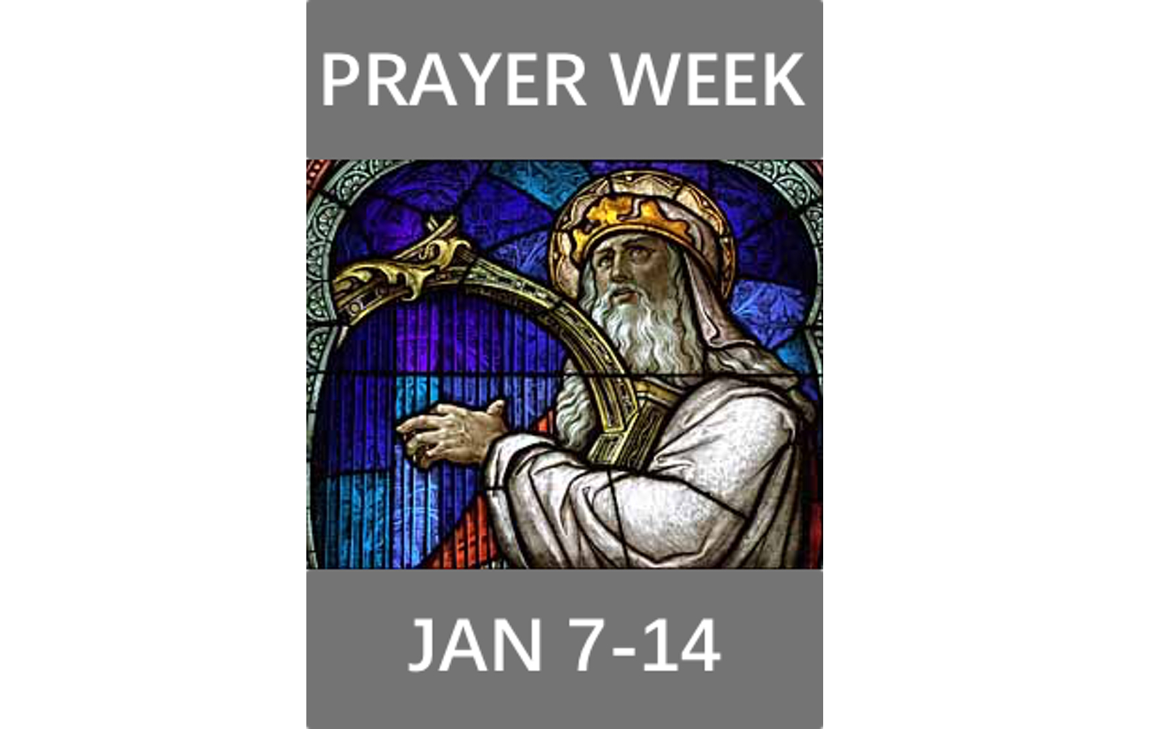 This year for prayer week, we will be praying through the Psalms. Pastor Rick will be starting off prayer week by preaching about how we can pray through the Psalms. Be sure to check out our social media pages each day next week, so you can join us in prayer.