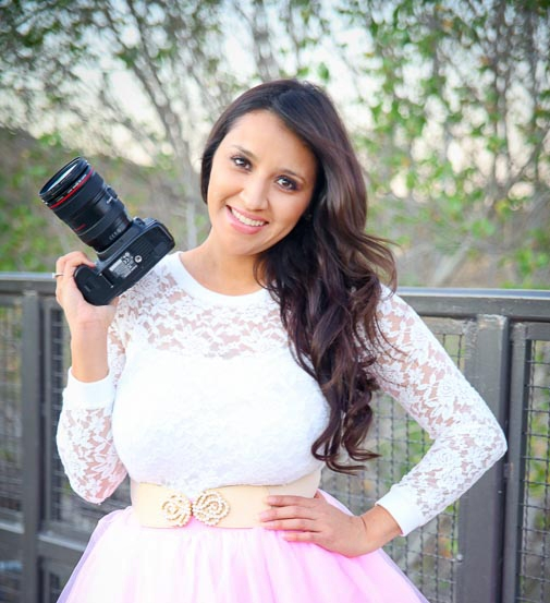 Michelle Lorraine - Photographer  Michelle has been a professional photographer for over 10 years. She specialized in daytime photography.