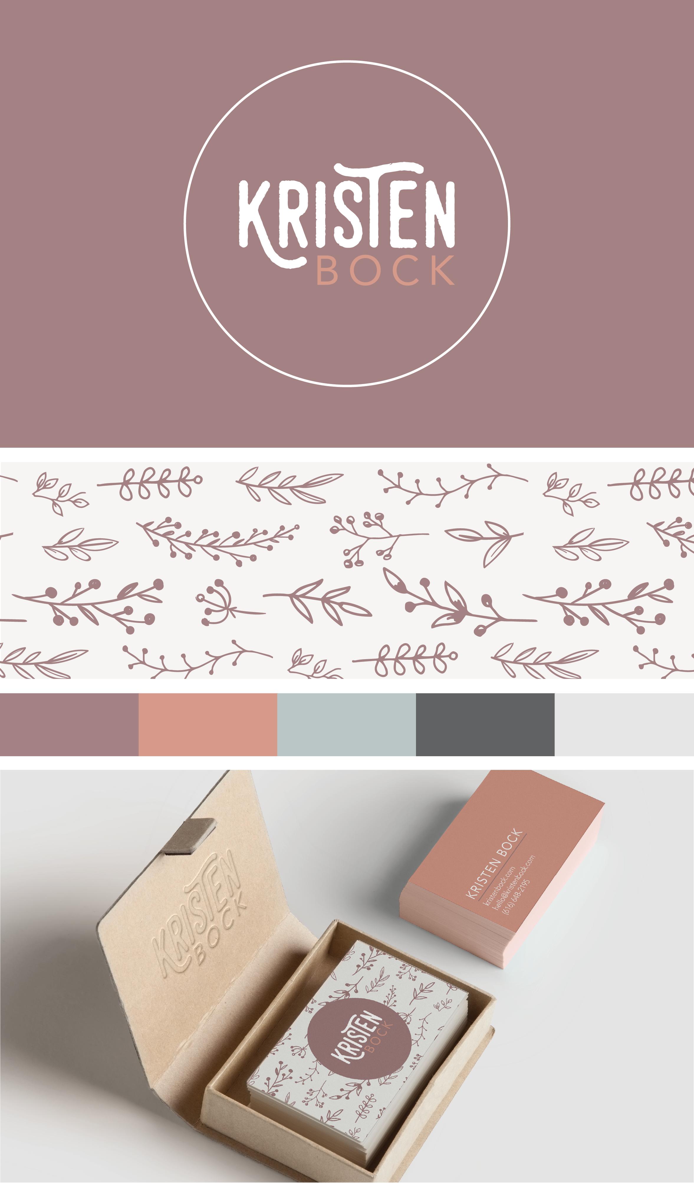 Kristen Bock Brand Designed By Amari Creative
