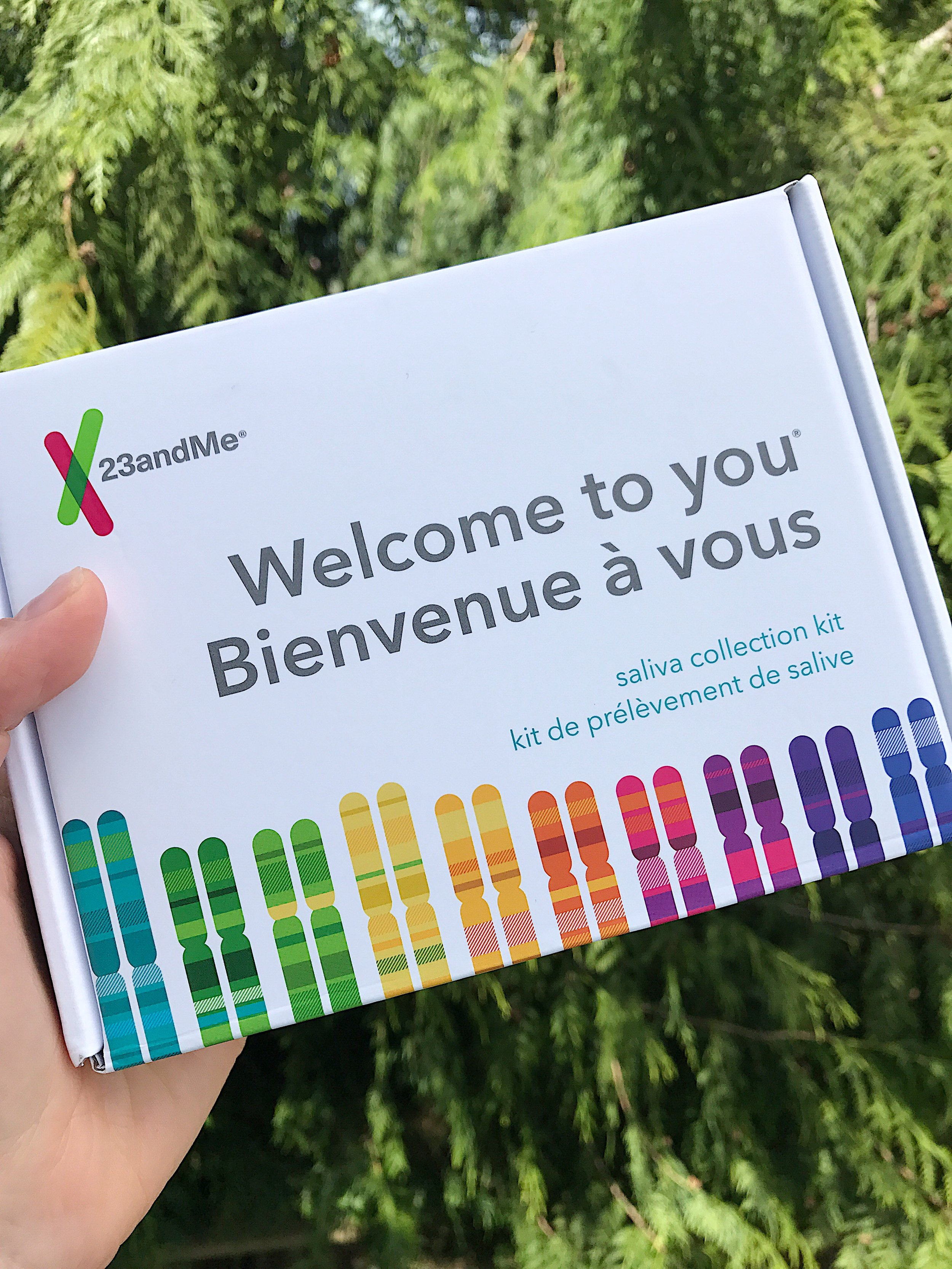 Anyone can order the test kit from 23andme.com - keep an eye out for groupons and special occasion discounts.