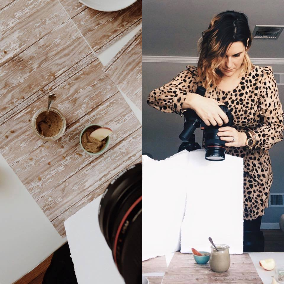 Another behind the scenes moment of how I create natural light food photographs for my stock photography site and personal blog.