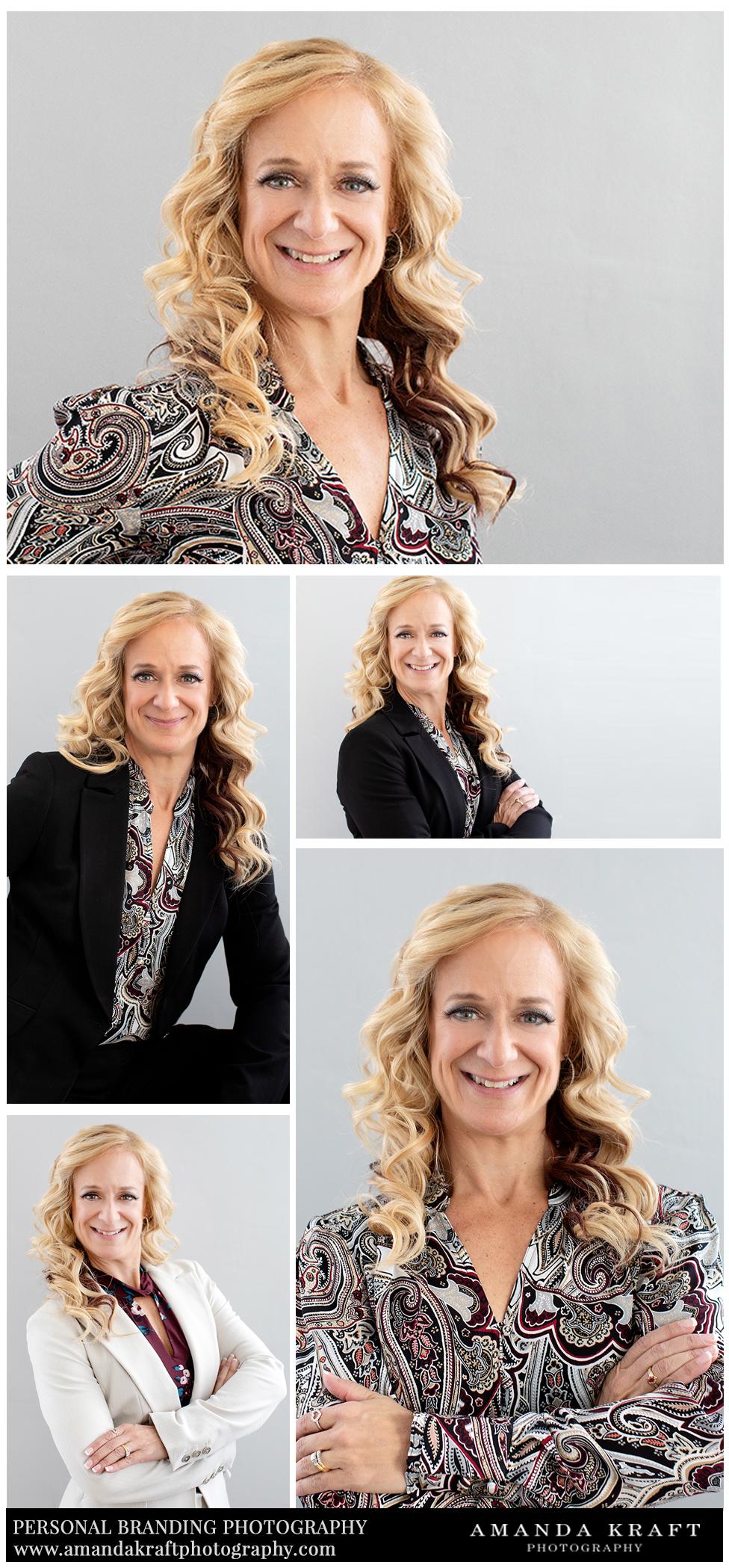 personal branding portraits amanda kraft photography