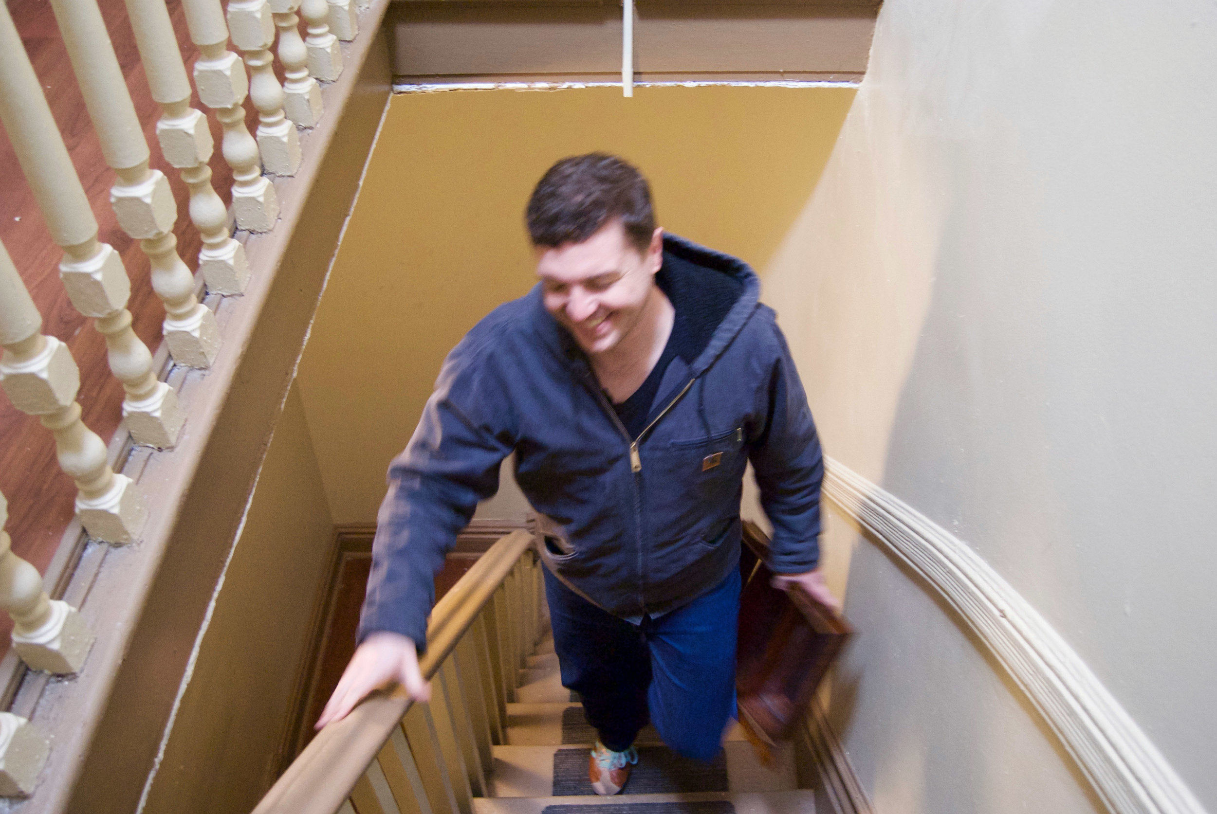 on-the-stairs