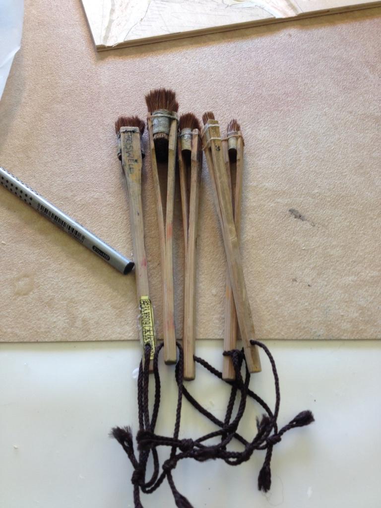Deer brushes