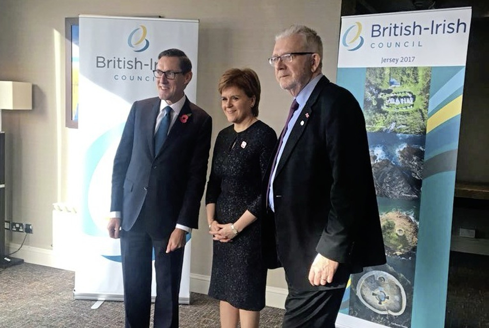 British-Irish Council in Jersey - courtesy of the Jersey Evening Post