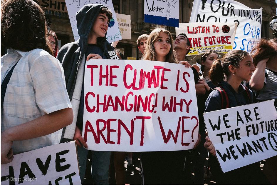 Image: Schools Strike 4 Climate.