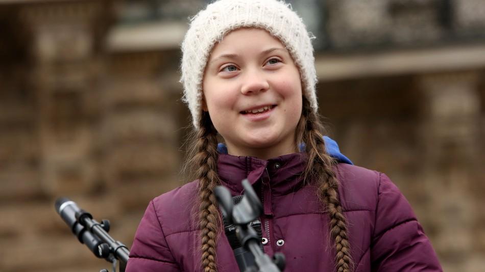 Image: Mashable / Greta Thunberg.