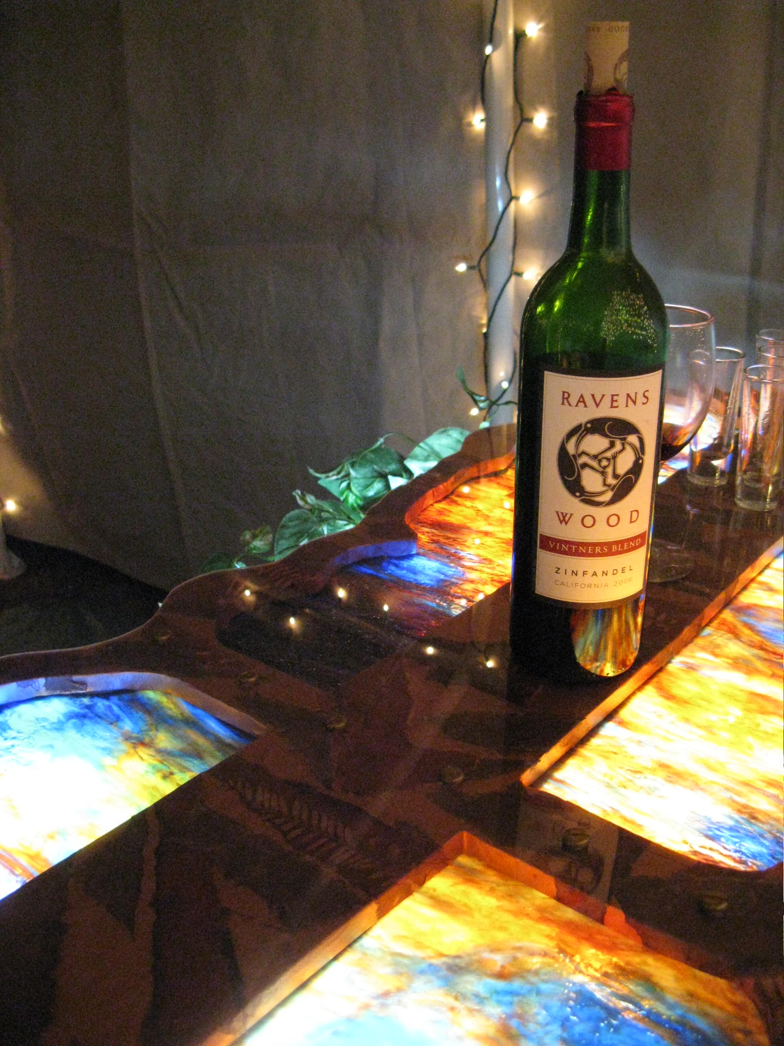 Stained Glass Bar Top