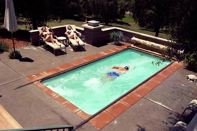 Viking Exercise Pools — Lifestyle Fiberglass Pools