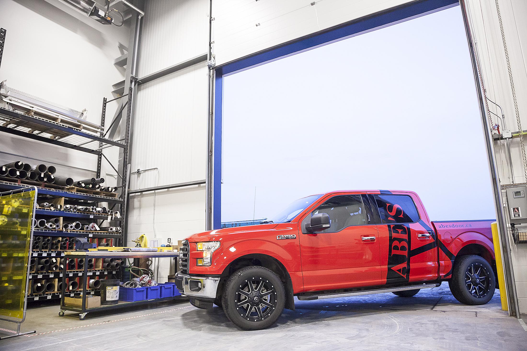 mobile truck service for door repair