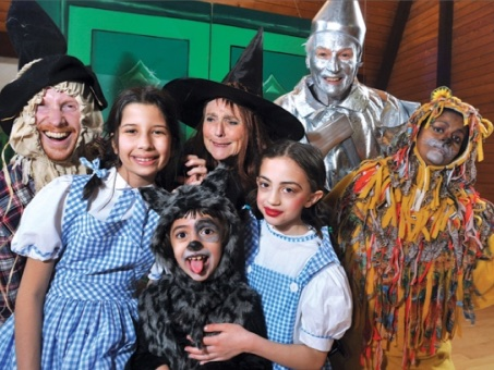 "Our Cast From ""The Wizard of Oz"""