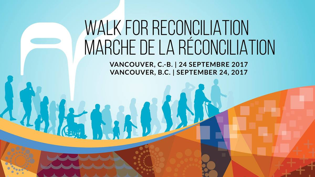 Join us on Sunday, September 24th at 9:30am the 2017 Walk for Reconciliation in Vancouver.  The Walk for Reconciliation is a positive movement to build better relationships among Indigenous peoples and all Canadians. Now is the time to transform and renew relationships among Indigenous peoples and all Canadians. The act of walking and sharing our stories joins us in a commitment to create a new way forward for reconciliation.  All are invited and welcome to join in the support the spirit of 'Namwayut - We are all one.  The Walk follows a 2km route from Cambie and Georgia Streets to Strathcona Park.  Rev. Emily will be attending, along with other UU ministers from the area. All Unitarians attending are invited to meet at the Playhouse stage door on Cambie at Dunsmuir. More info  HERE .  Note: There will also be a regular Sunday service happening during this time at North Shore Unitarian Church, with Rev. Marcus preaching. We hope you will attend where you feel drawn to connect on this special Sunday morning!