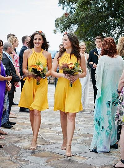 Isabella Giovinazzo home and away bridesmaids