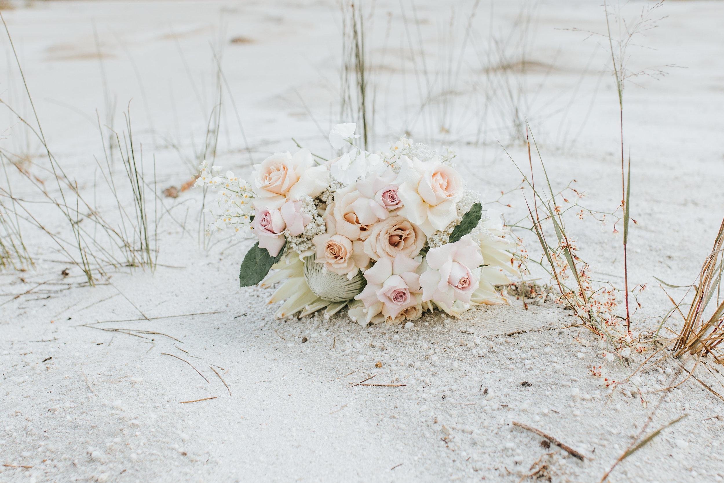 Bloodwood Botanica | Native pastel bridal bouquet