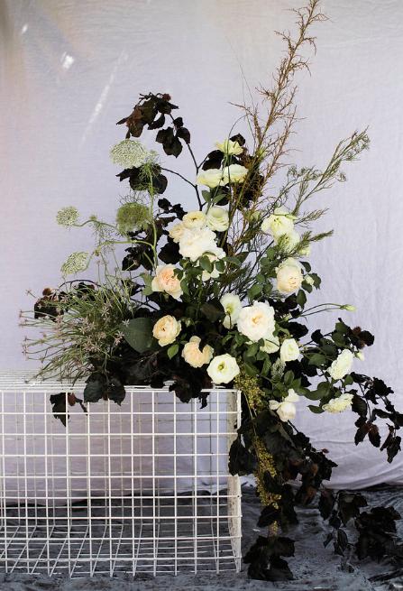 Bloodwood Botanica | Floral Plinth