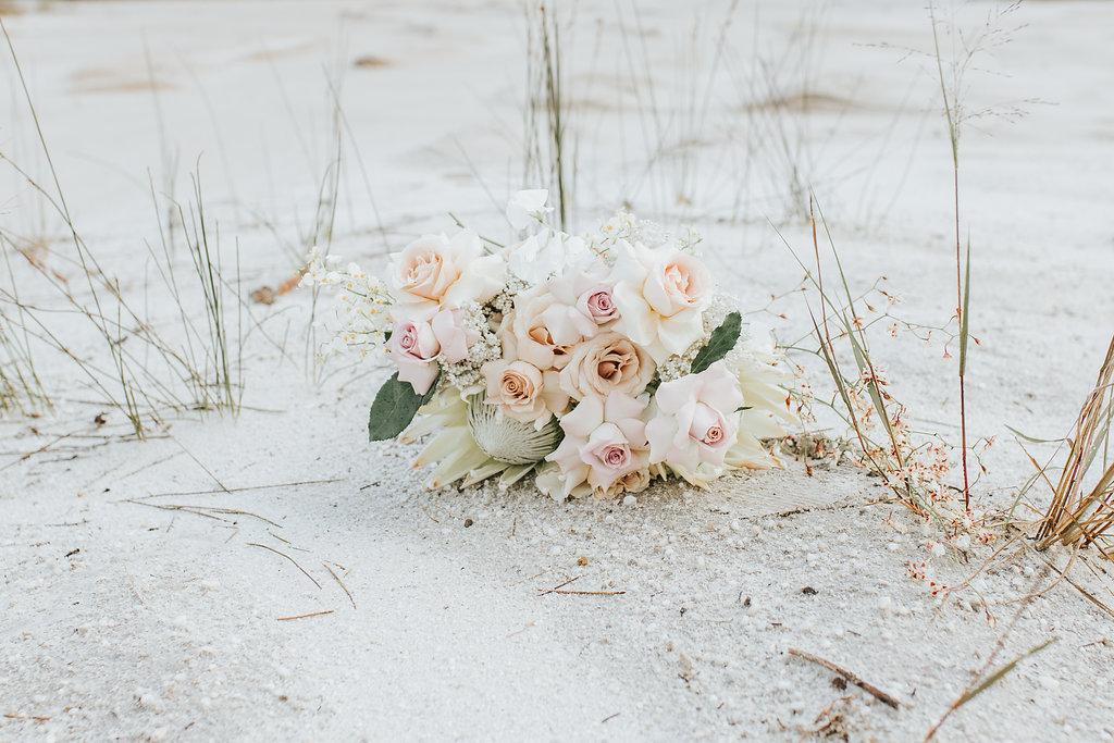 Bloodwood Botanica   Native wedding bouquet