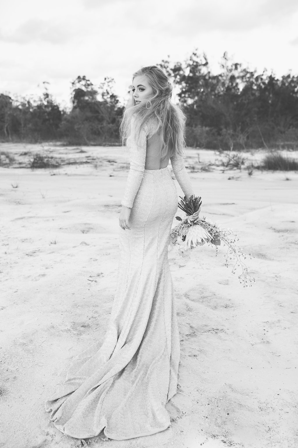 Bloodwood Botanica   Alex Mearing Sequin Dress
