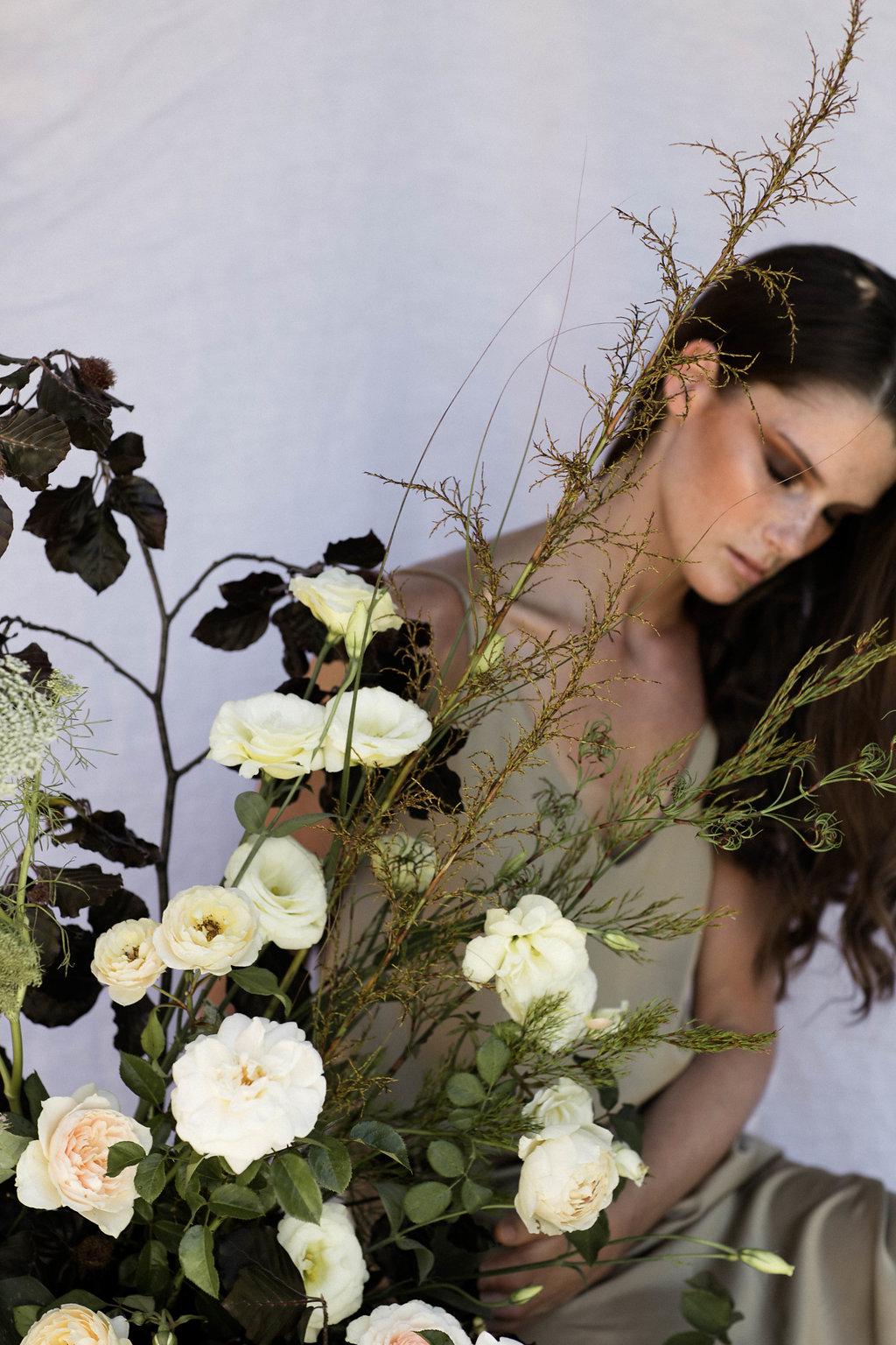 Bloodwood Botanica | Floral plinth shoot