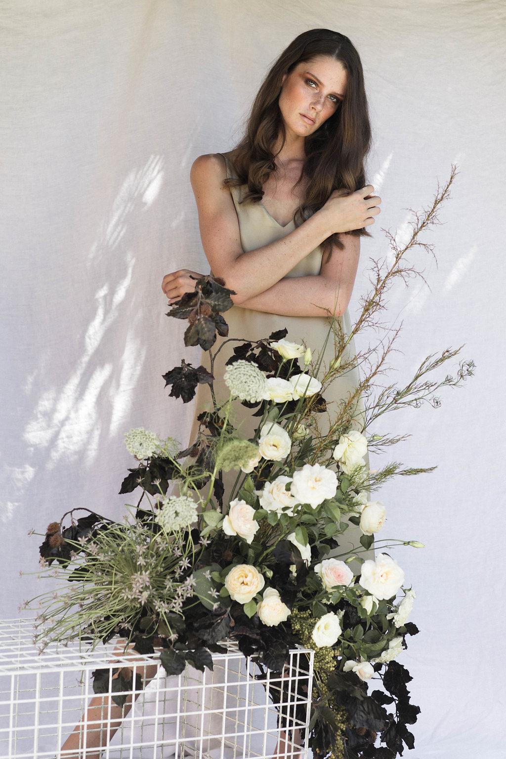 Bloodwood Botanica | floral wedding entrance plinth