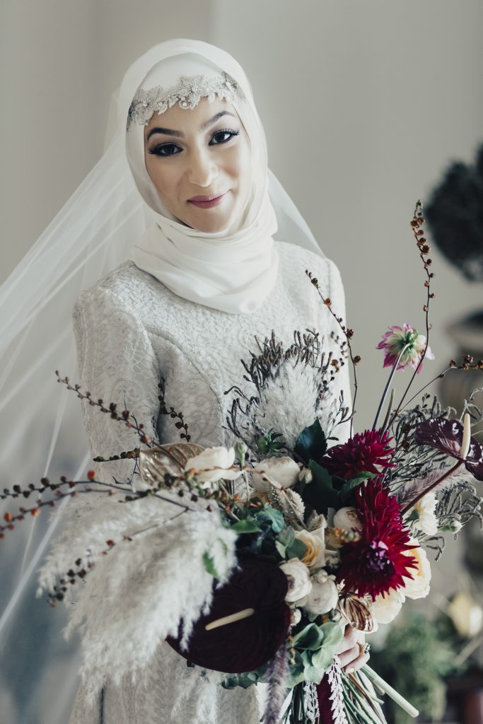 Bloodwood Botanica | Stunning Modest Bride