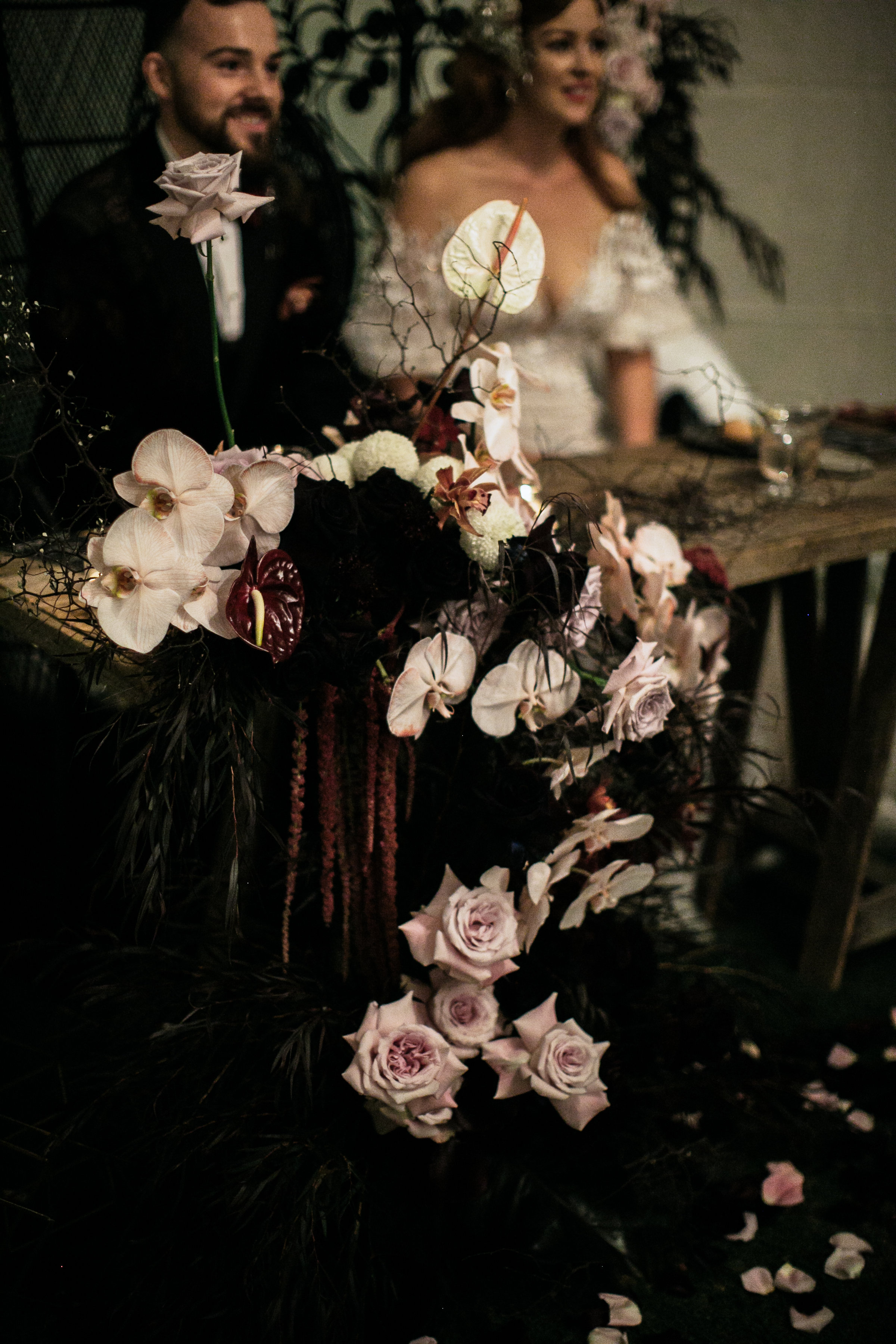 Nikea + Ed dream bridal table