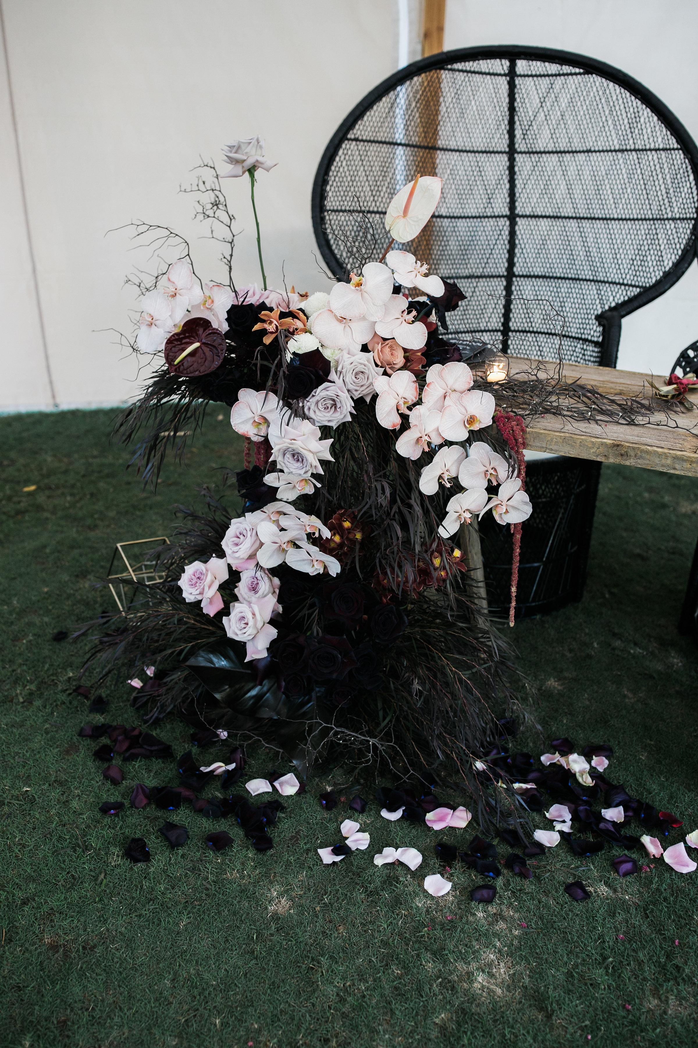 Bridal Table End   Bloodwood Botanica