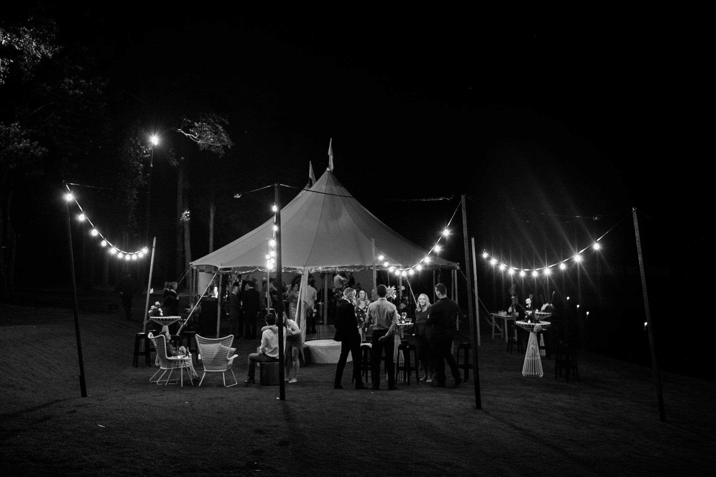 Bloodwood Botanica   Sperry Tent Set up