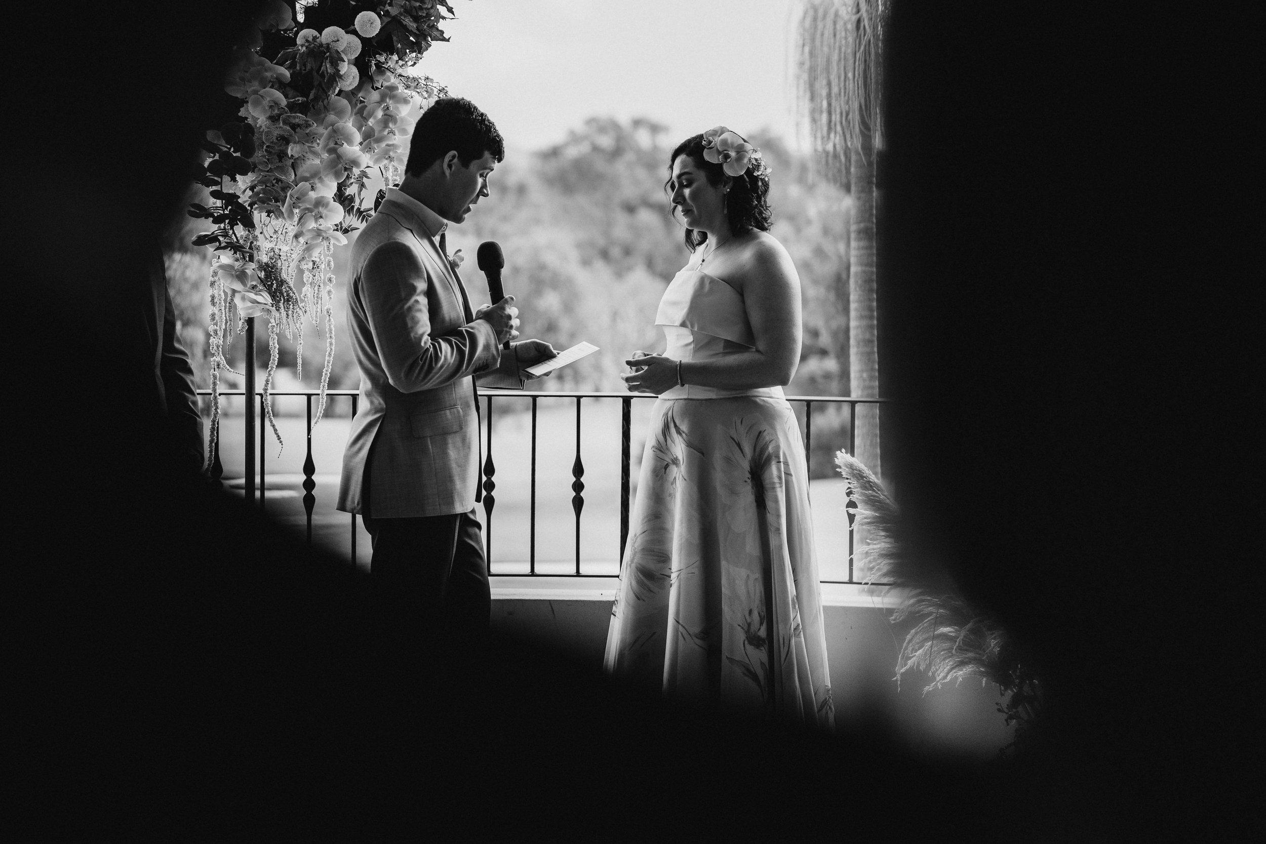 Bloodwood Botanica | Happy couple