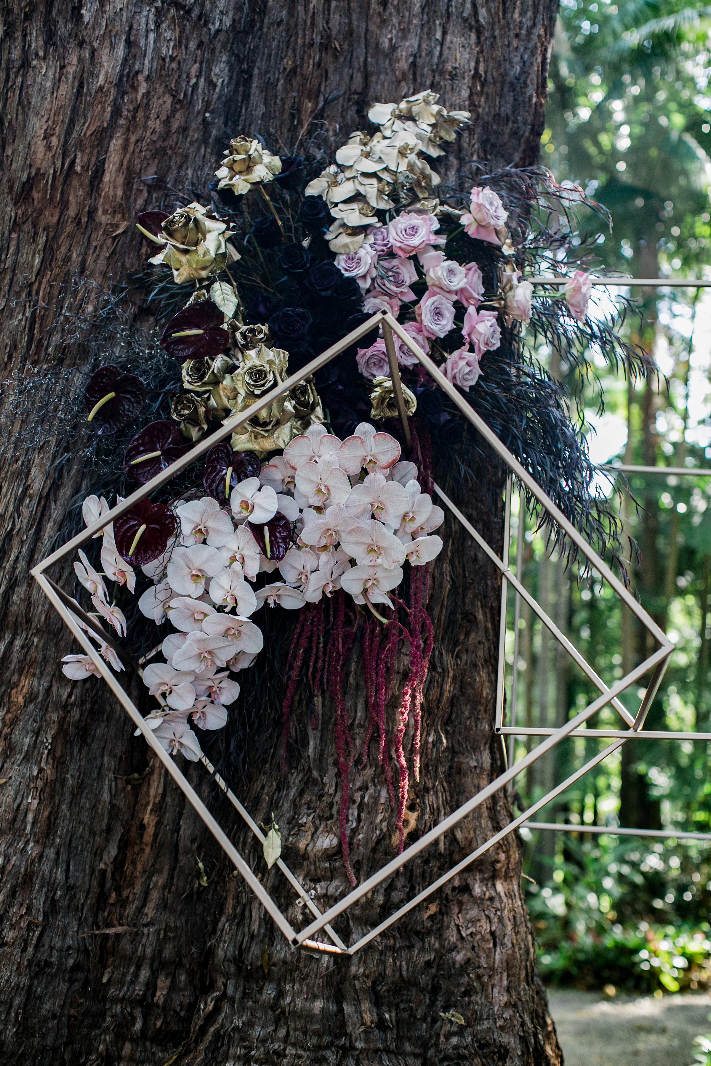 Bloodwood Botanica | Aisle Creation Groom Style