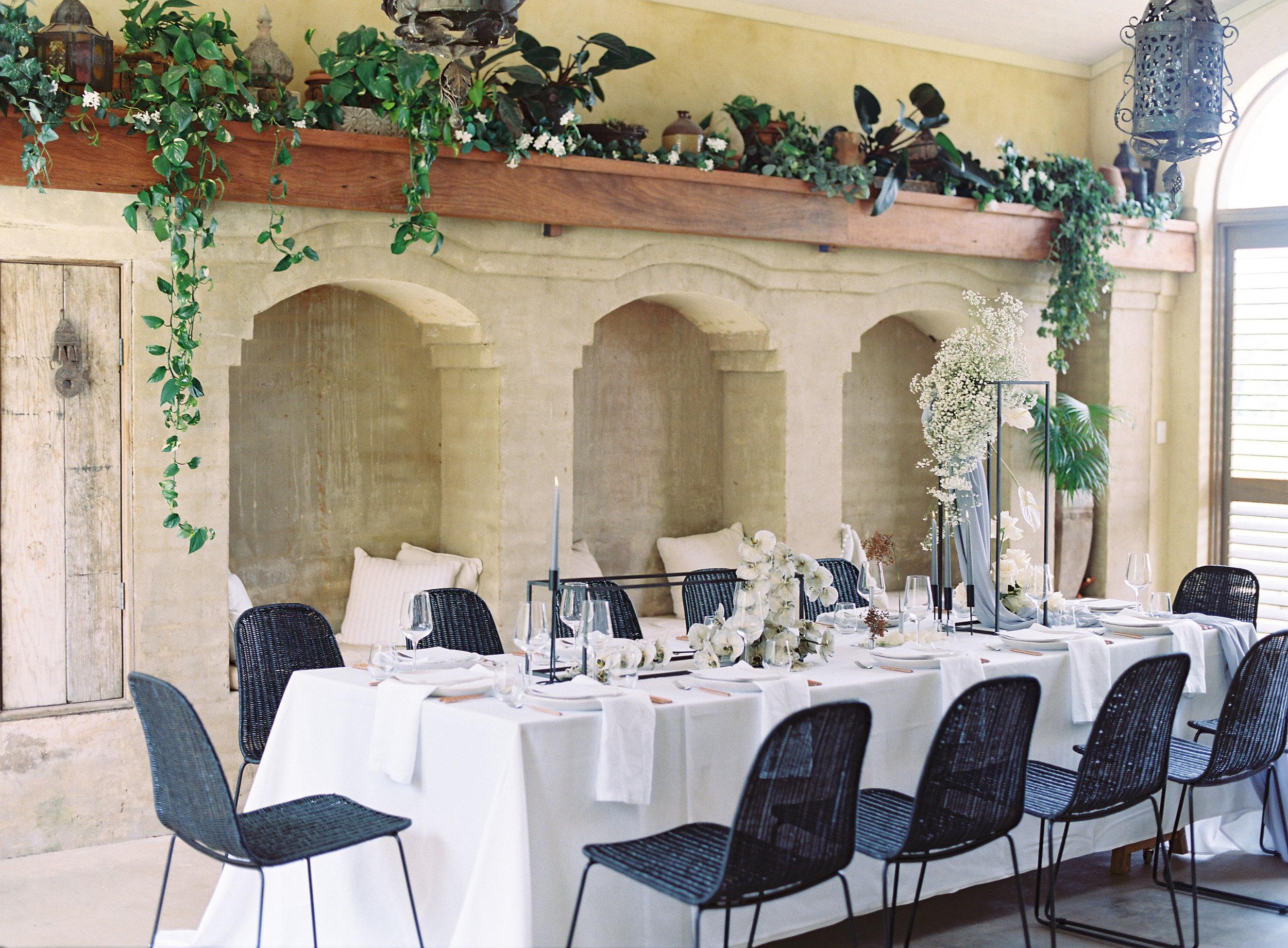 Bloodwood Botanica | villa rustica harpers bazaar tablescape