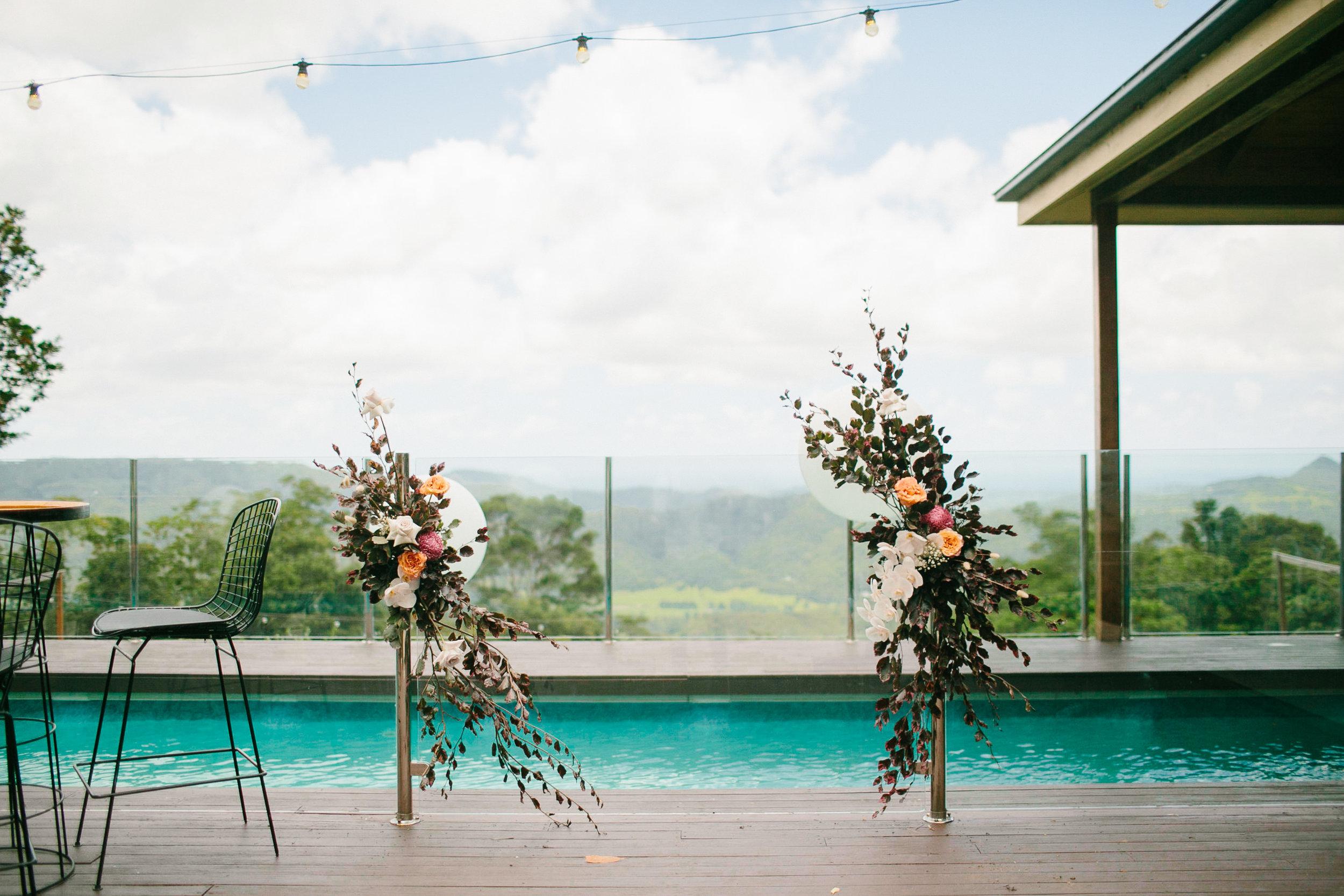 Bloodwood Botanica | Floral fence