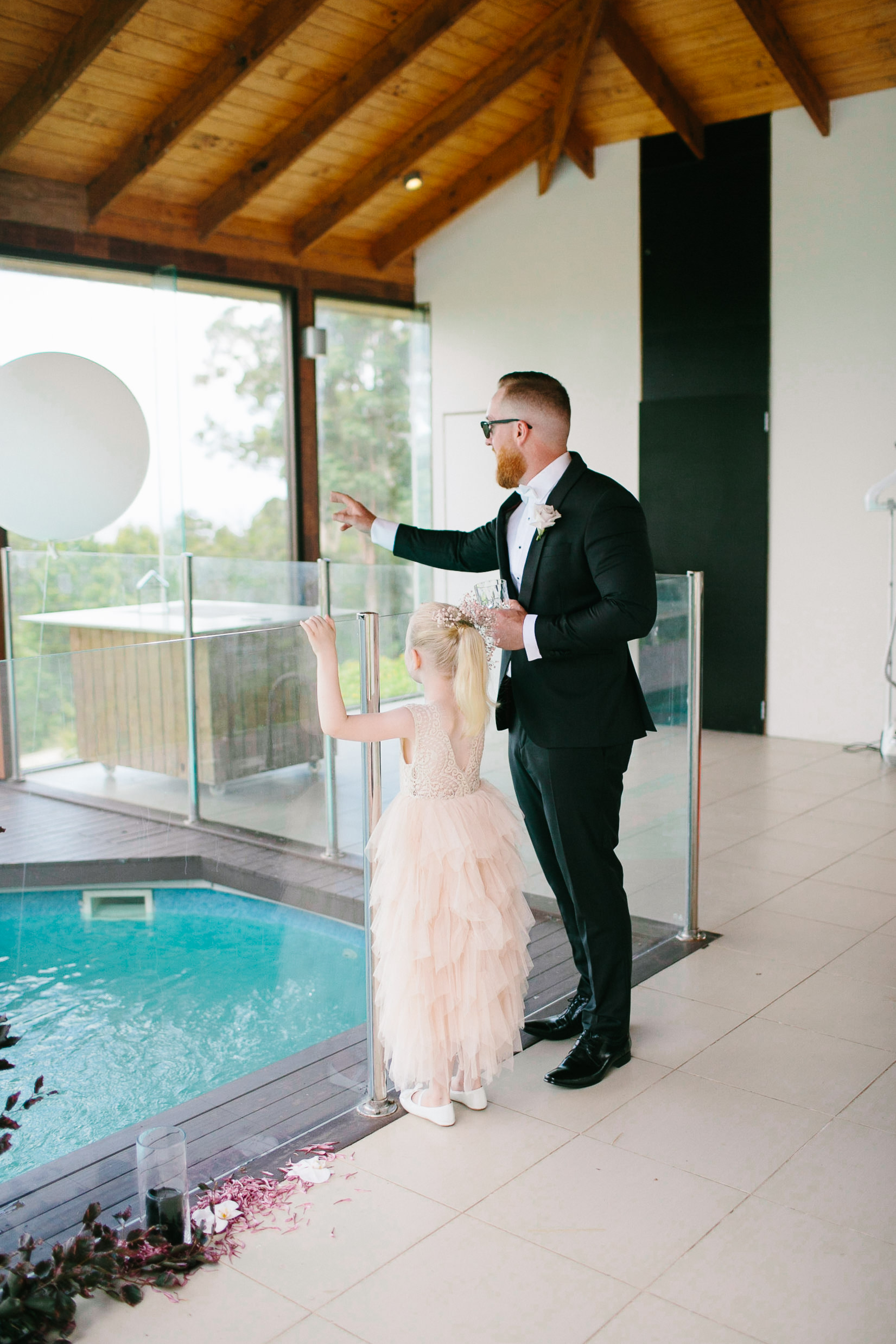 Bloodwood botanica | cutest moment wedding