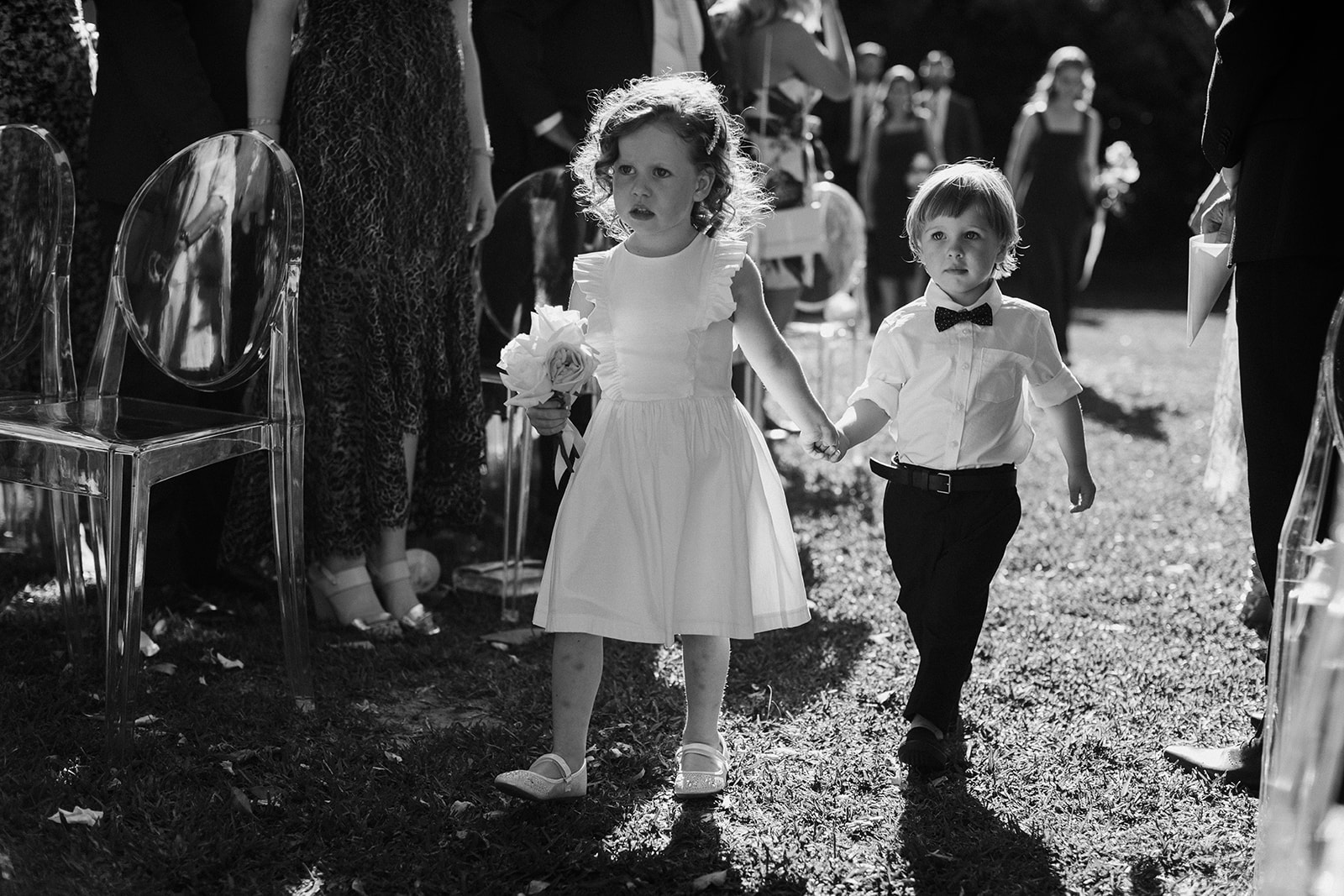 Bloodwood Botanica | Flower girl adorableness
