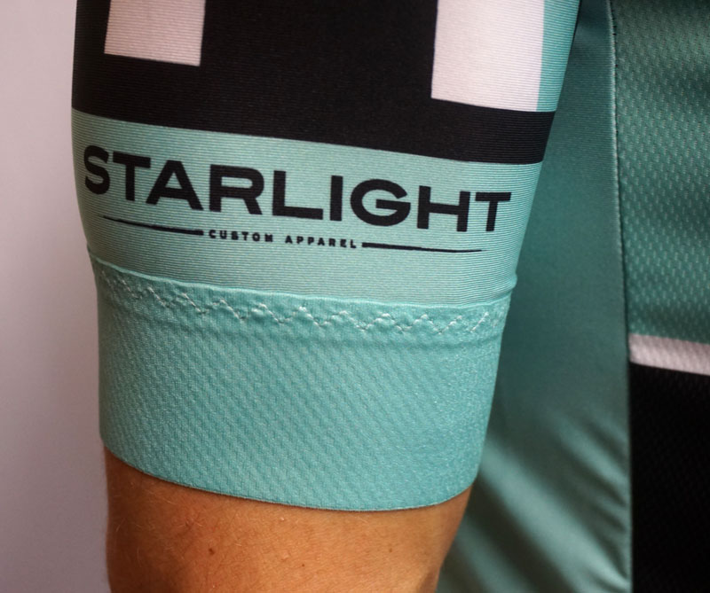 5cm silicon-infused lycra power band with our exclusive zigzag stitch.