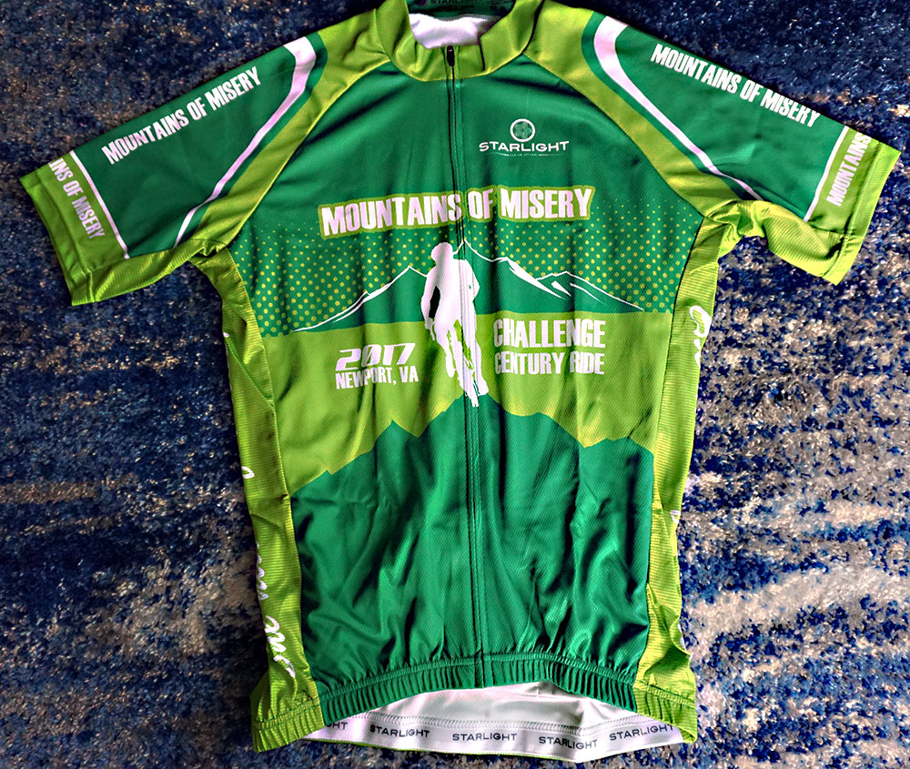 Mountains of Misery used our Pro+ Club Fit Jersey,