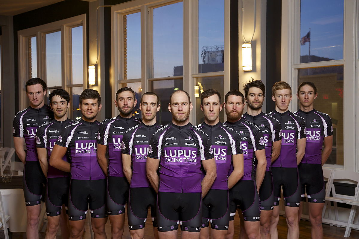 The full Lupus Racing Team 2015 squad.